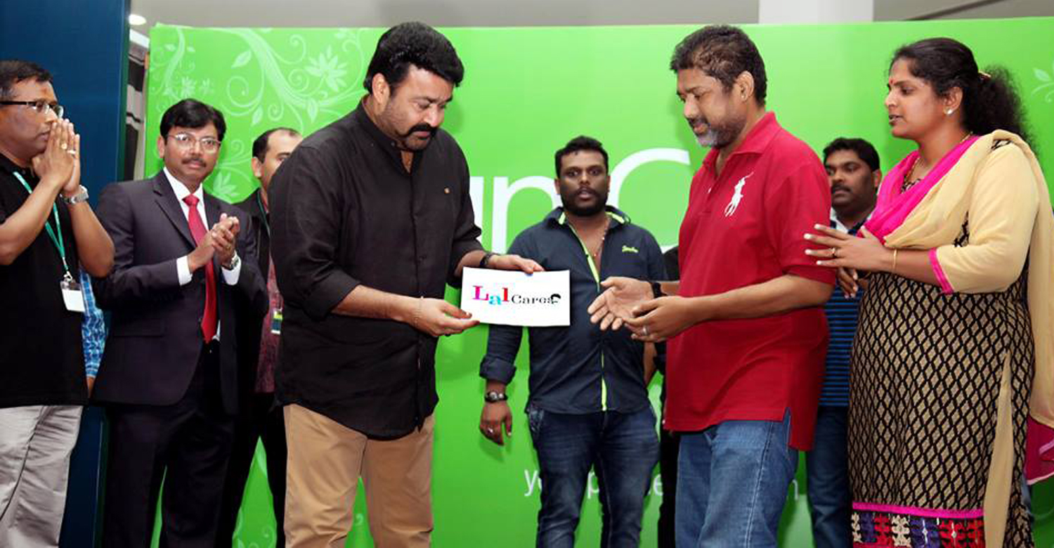 Mohanlal's Lal cares with helping hand once again