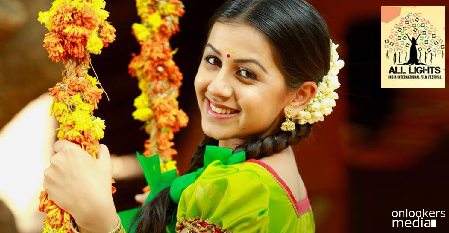 Nikki Galrani, the ALIIFF brand ambassador of Cinema for Children