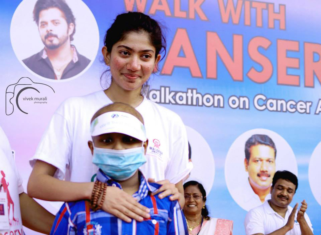 Sai Pallavi Latest Photos-Walk with cancer