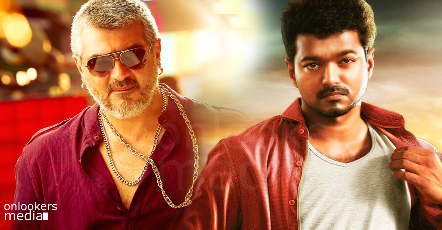 Vijay appreciated Ajith for his get up in Vedalam