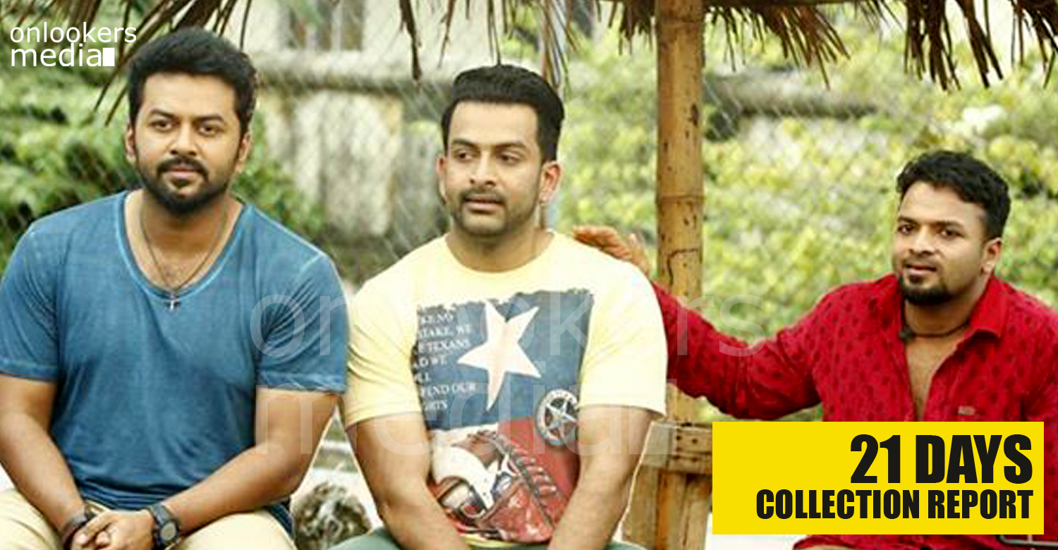 Amar Akbar Anthony 21 Days Collection Report -
