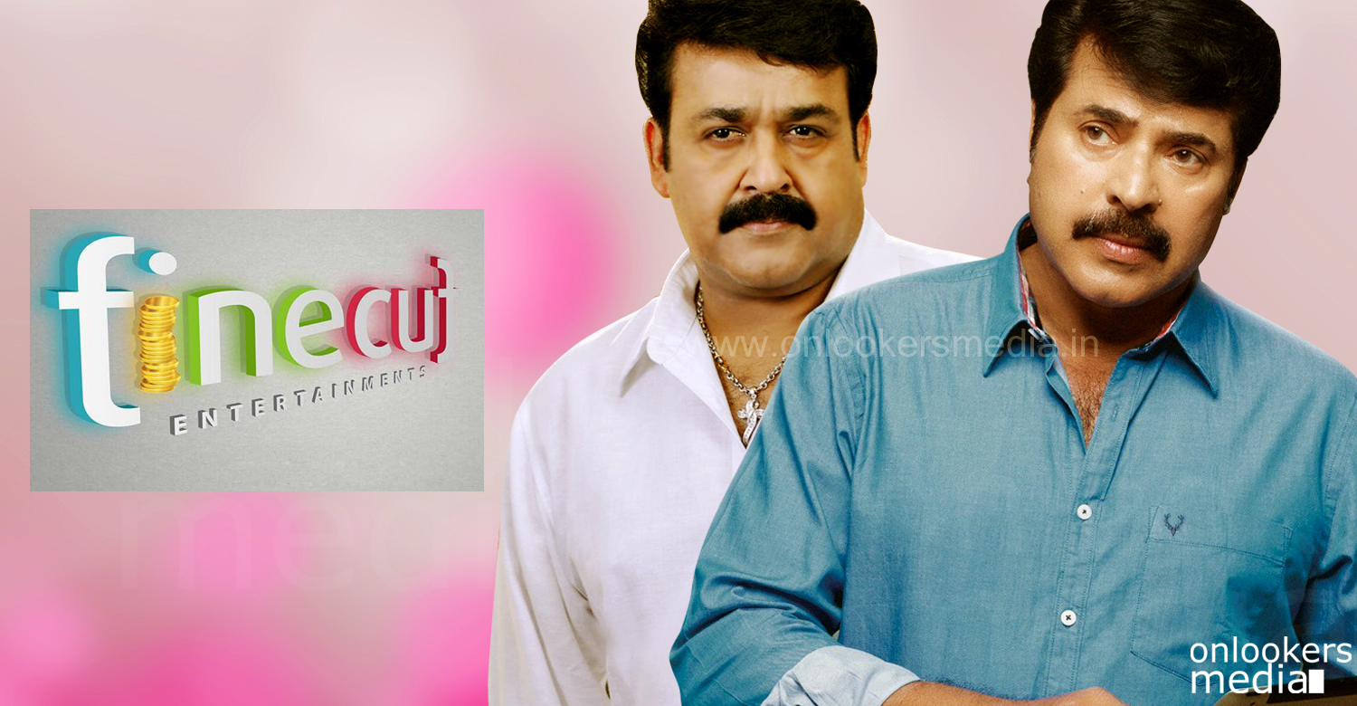 Finecut Entertainments to come up with Mammootty and Mohanlal films in 2016 !