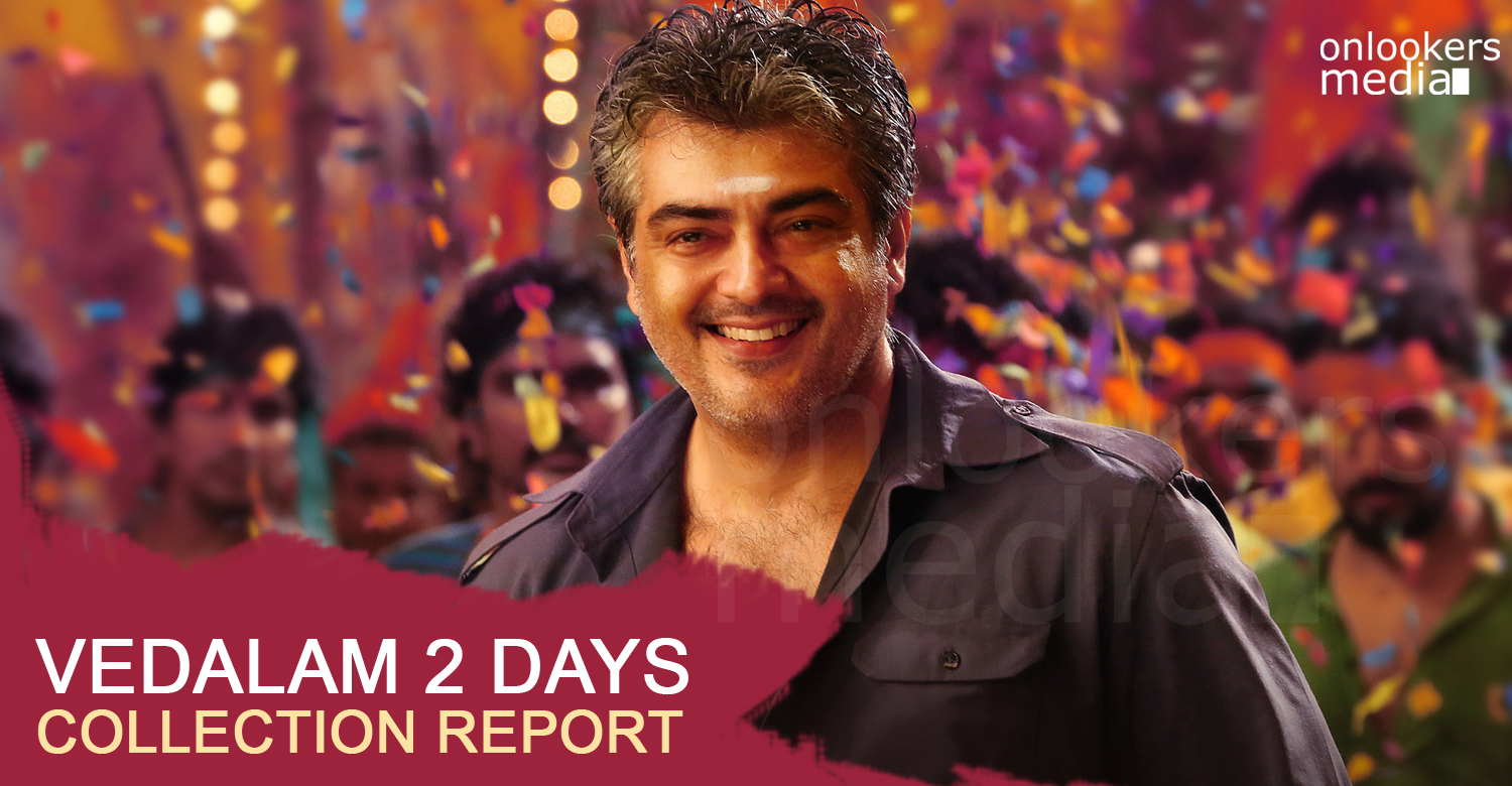 Vedalam 2 days collection report-Ajith-Siva