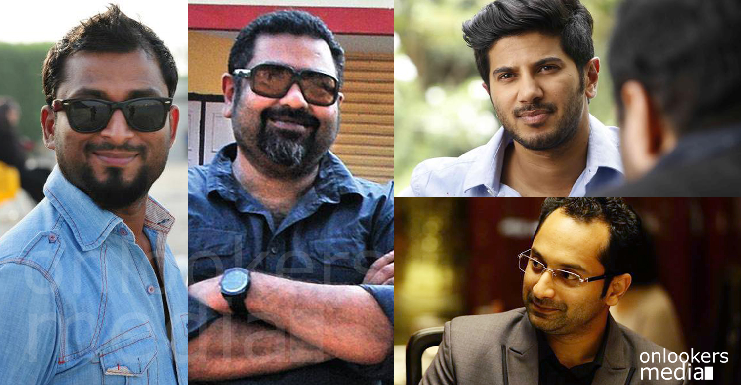 Amal Neerad dulquer movie, anwer rasheed fahad fazil movie, anwer rasheed next movie, amal neerad next movie