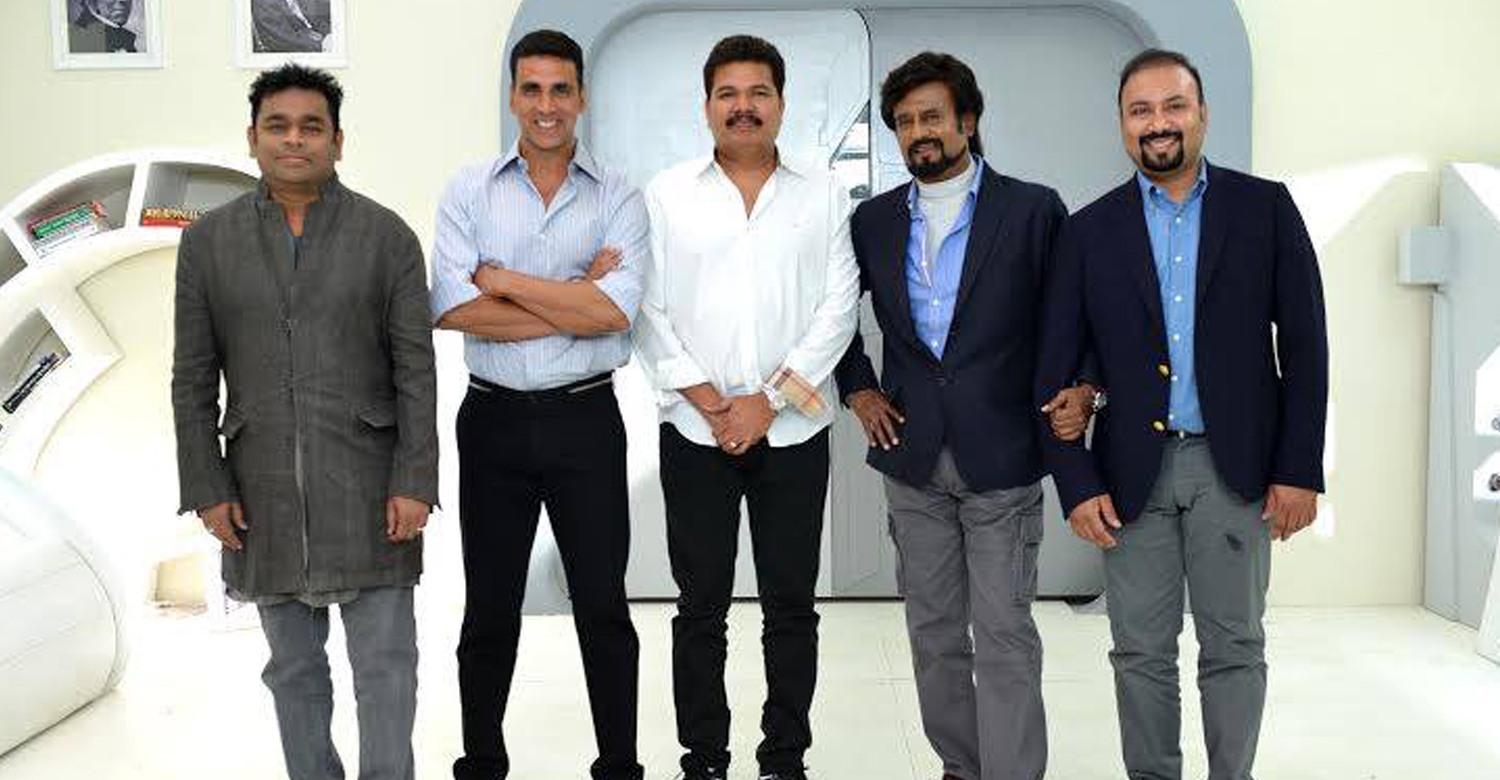 Rajinikanth, Enthiran 2, Shankar Rajinikanth movies, rajinikanth in Enthiran 2, akshay kumar in Enthiran 2, Enthiran 2 villain