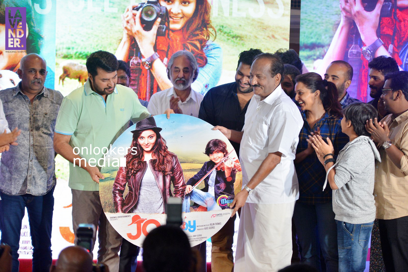 Jo and the Boy Audio Launch Stills, Jo and the Boy, Jo and the Boy stills, manju warrier in Jo and the Boy, mammootty at Jo and the Boy audio launch, mammootty latest, master sanoop, kavya ajit