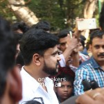 Dileep with his fan Sumi Autism patient
