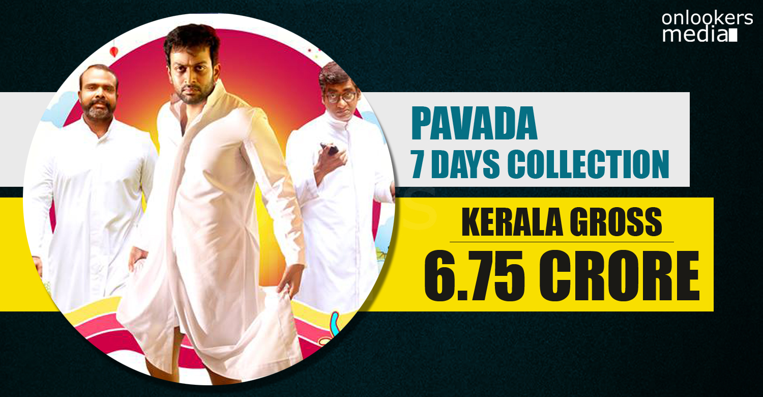 Pavada Collection Report, pavada prithviraj movie collection report, pavada hit or flop, prithviraj hit movies, best malayalam movie 2016, prithviraj 2016 movies