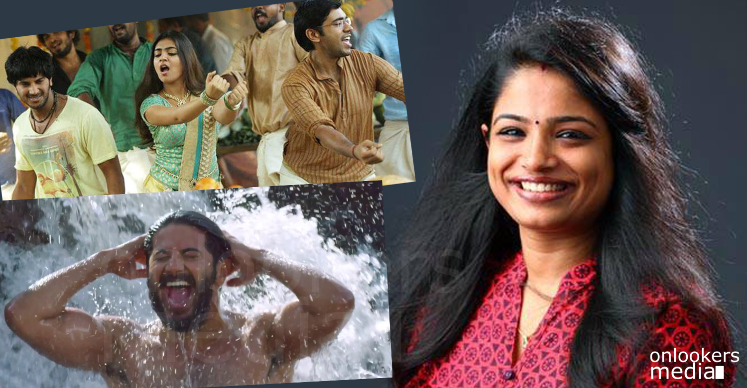 Puthumazhayay song from charlie, divya s menon, divya s menon singer photos, malayalam romantic songs, hit movie songers