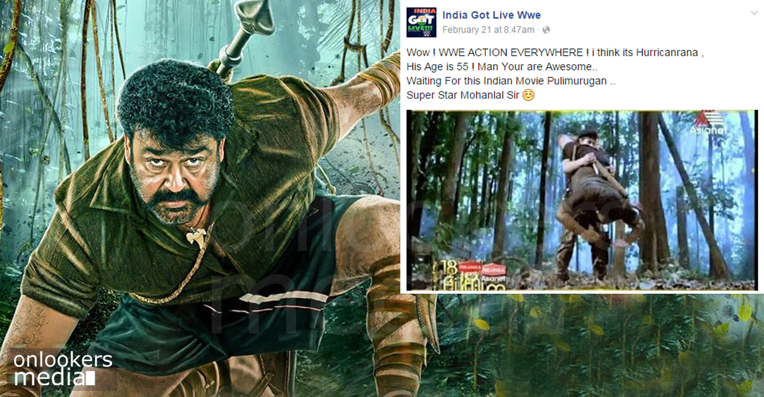 pulimurugan fight, mohanlal dupe in pulimurugan, peter hein malayalam movie, mohanlal next movie, malayalam movie 2016
