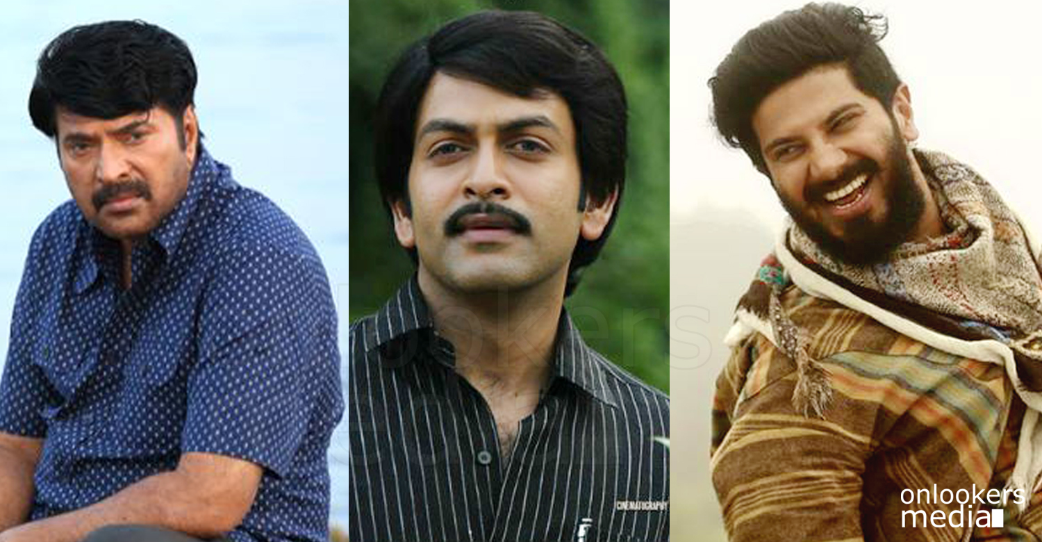 Mammootty 2016 movie, kerala state film awards 2016, dulquer best actor, mammootty prithviraj,