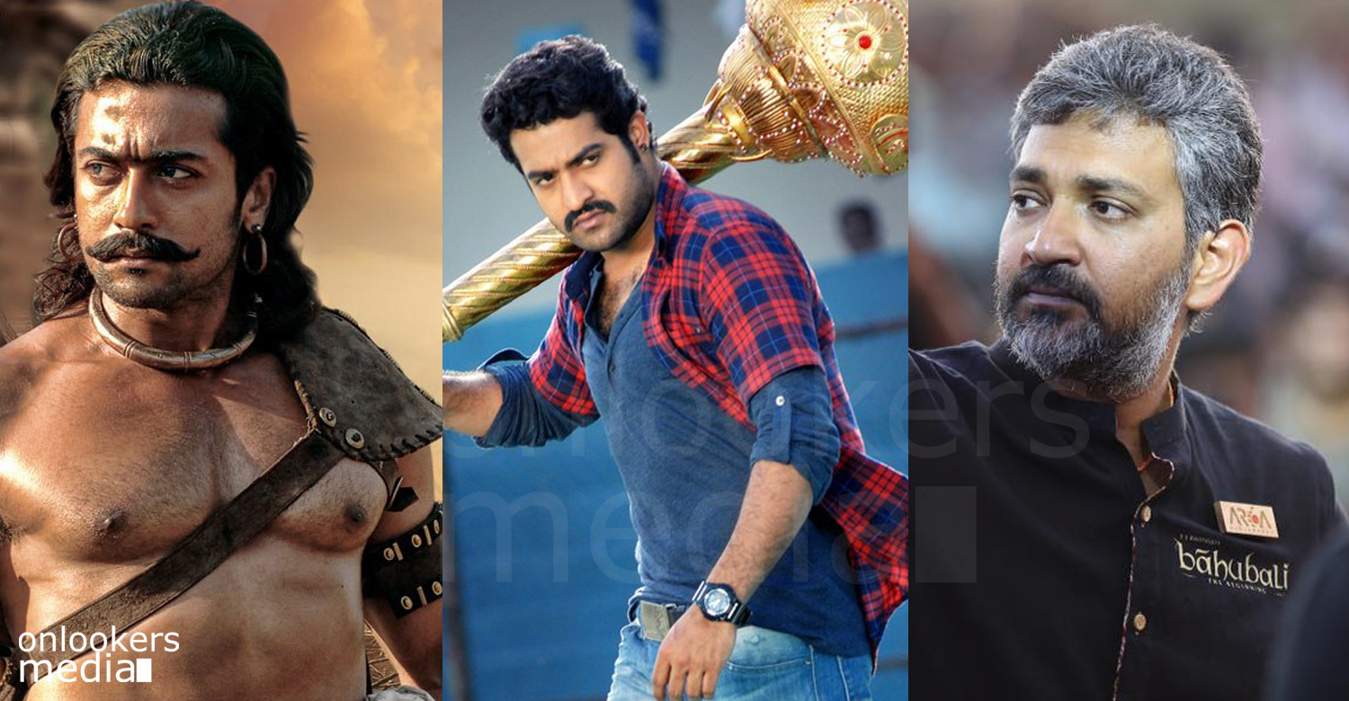 suriya and jr. ntr to play the lead in bahubali 3 ?