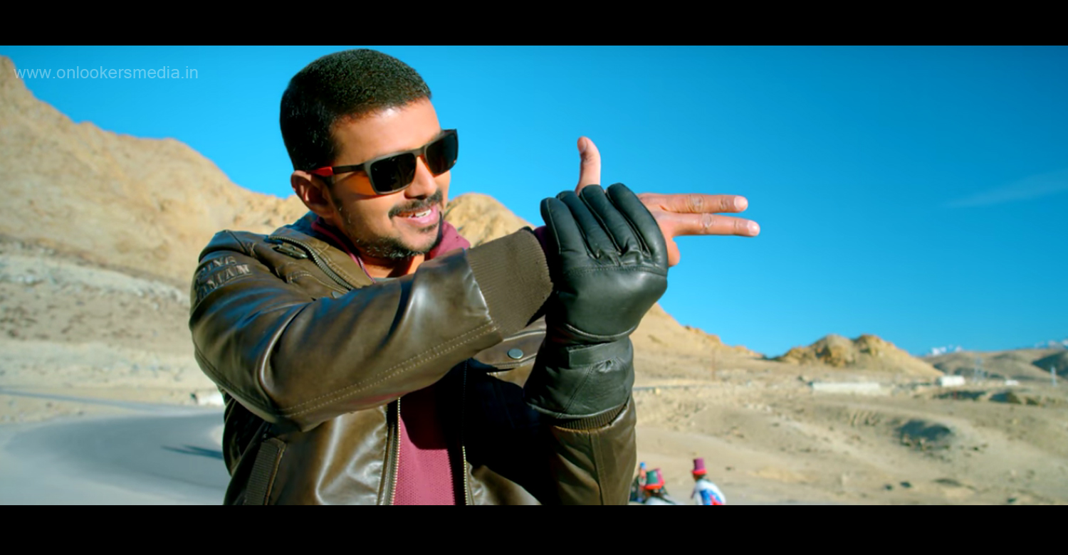 Theri Trailer, vijay in Theri, Theri official trailer, vijay movie theri trailer video, amy jackson, vijay differnt getup