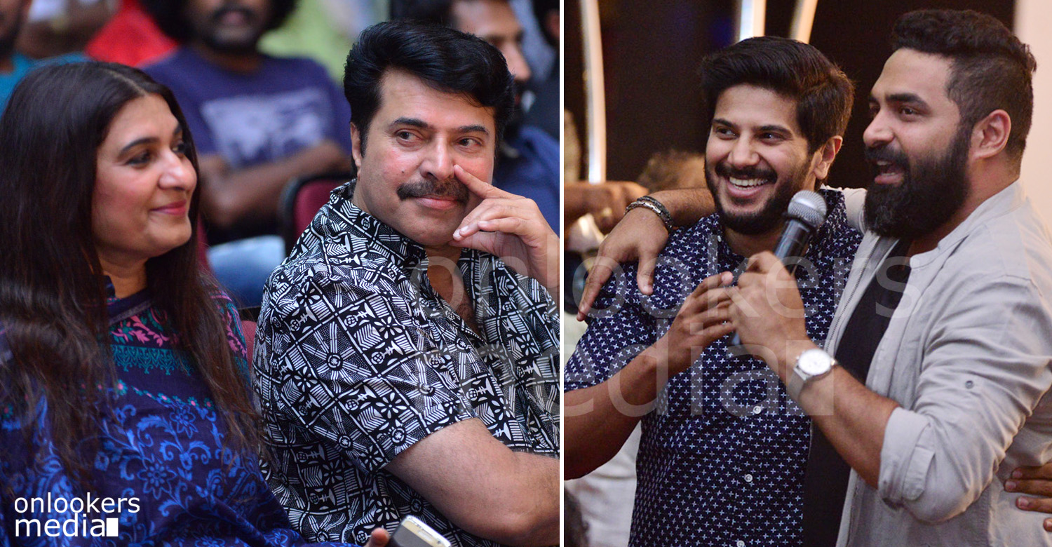 Charlie 100 Days Celebration, Charlie, Charlie 100 Days, Dulquer wife Amal Sufia, Sulfath Mammootty, Mammootty family, Parvathy charlie 100 days, mammootty at charlie 100 days celebration, dulquer at charlie 100 days
