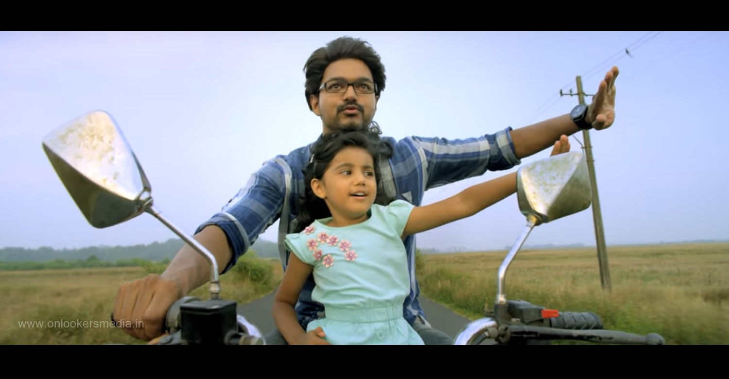 Hey Asmaan Song From Theri, Theri, Hey Asmaan, vijay in theri, theri movie stills, theri hindi song, vijay 2016 movies