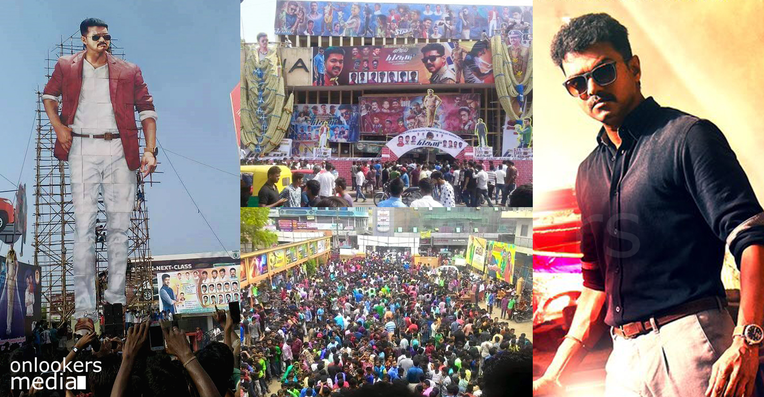 Theri, vijay in Theri, Theri theater response, Theri first day collection, Theri break vedalam collection,