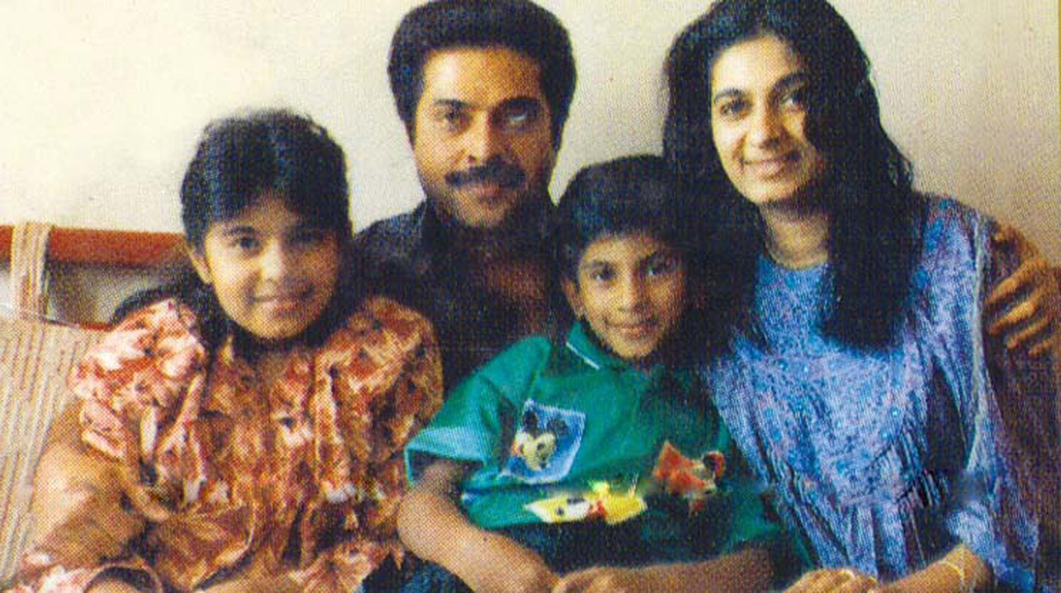 Mammootty Family Photos Wife Daughter Son Onlookersmedia