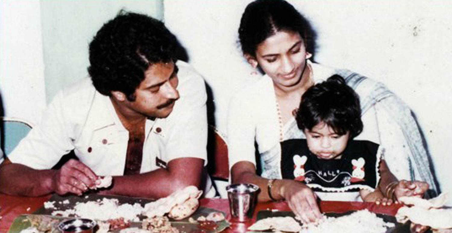 Mammootty and family photos