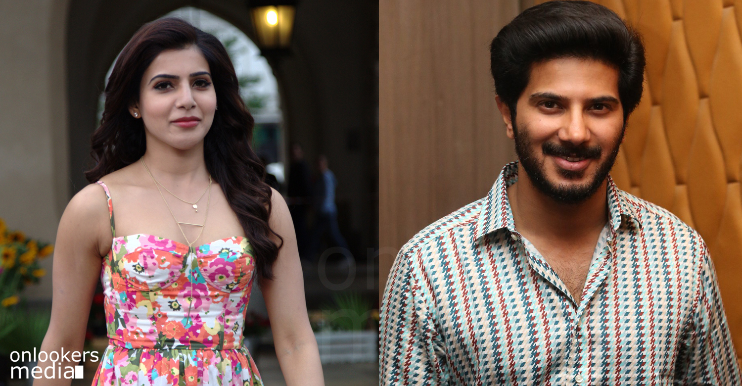 Samantha, Dulquer, Samantha about dulquer, Samantha ruth prabhu, Samantha latest photos, dulquer next movie, Samantha malayalam movie