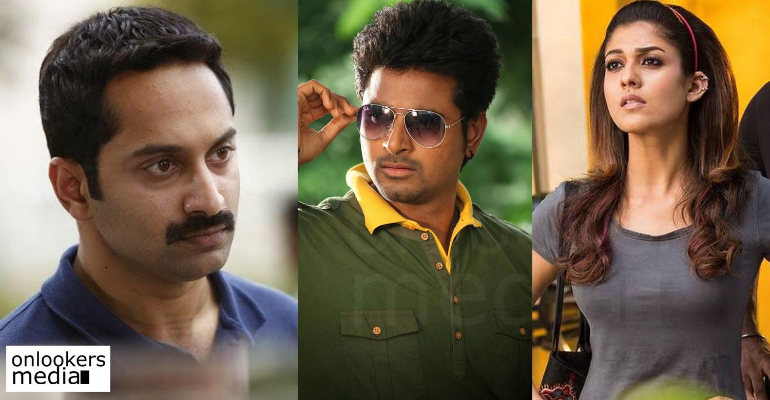 Fahad Fazil, Mohan raja, Nayanthara, Sivakarthikeyan, fahad fazil tamil movie, fahad next movie, fahad fazil villain role, mohan raja siva karthikeyan movie