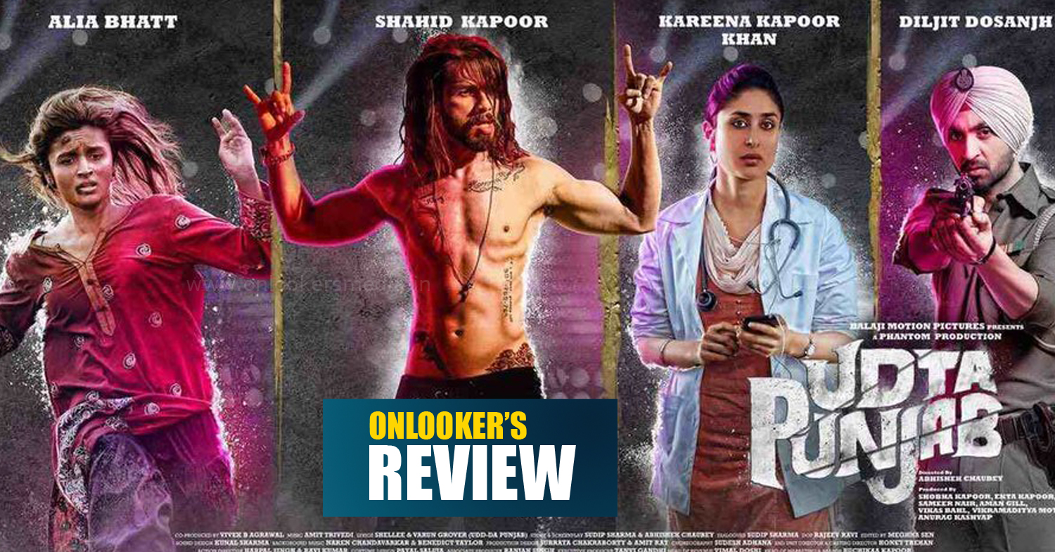 Alia Bhatt, Abhishek Chaubey, Shahid Kapoor, Udta Punjab, Udta Punjab review, Udta Punjab rating, Udta Punjab movie review rating, Udta Punjab hit or flop;