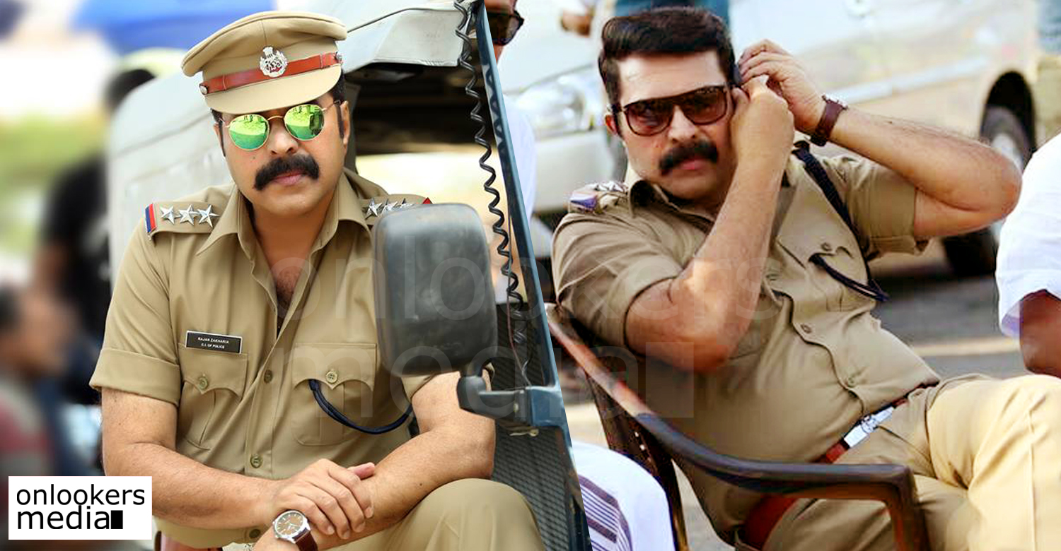 Kasaba, mammootty in Kasaba, mammootty next movie, mammootty police role, Kasaba stills,