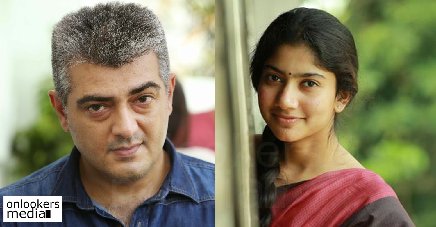 Thala 57 Sai Pallavi Turned Down The Offer To Share Screen Space
