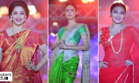 Saptamukhi 2016 Mahalekshmi Silks fashion show stills photos