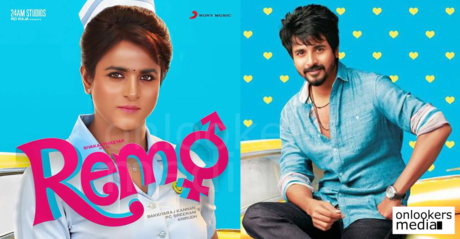 Remo, in which Sivakarthikeyan playing a female is on its way