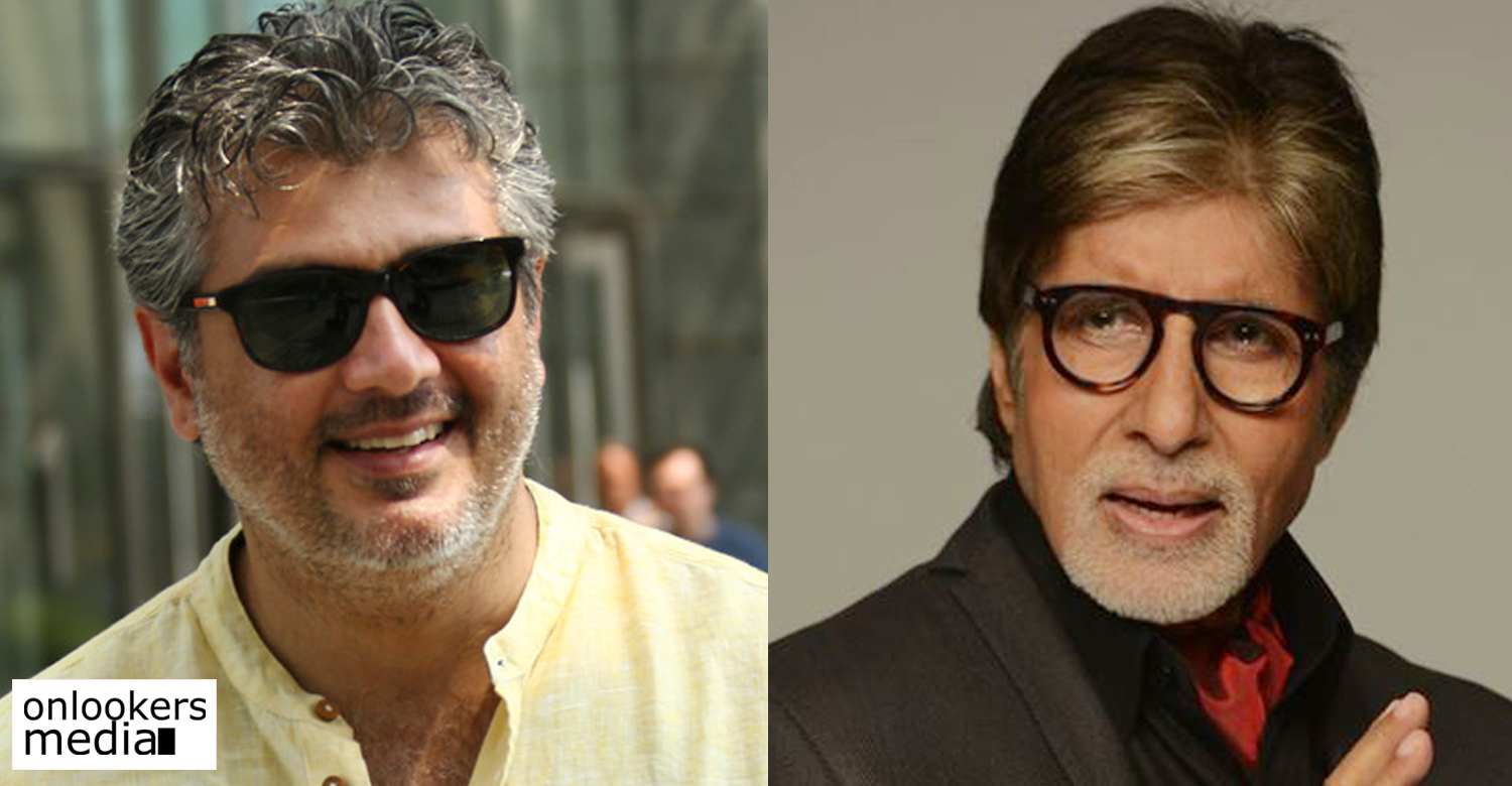 Ajith Kumar to team up with Big B Amitabh Bachchan in his next ?
