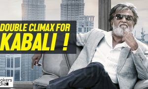 kabali, kabali climax, kabali double climax, double climax for kabali, is rajinikanth died in kabali climax, double climax indian movie,