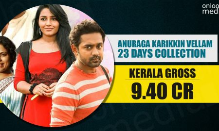 Anuraga Karikkin Vellam, Anuraga Karikkin Vellam Collection, kerala box office, asif ali, Rajisha Vijayan, hit malayalam movie 2016, eid winner 2016