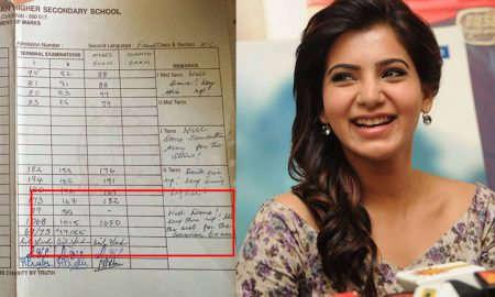 Samantha, Samantha mark list, school mark list of Samantha, Samantha actress photos, telugu movie actress