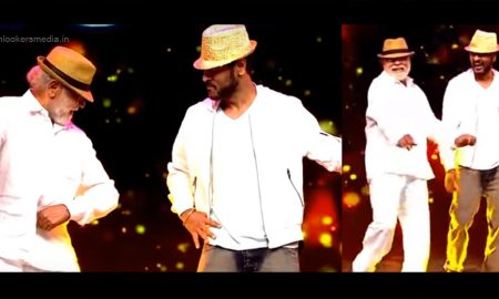 Mugur Sundar, Prabhu Deva dance move, Prabhu deva dance with father, prabhu deva father dance, stylish dance