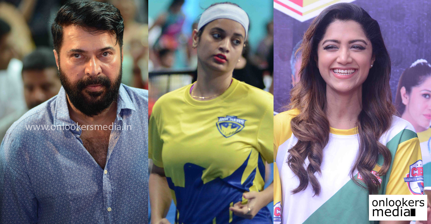 Celebrity Badminton League, Jayaram latest look, mammootty Badminton, Celebrity Badminton League 2016 stills photos, south indian actress at CBL, actress badminton team, kerala actors badminton,