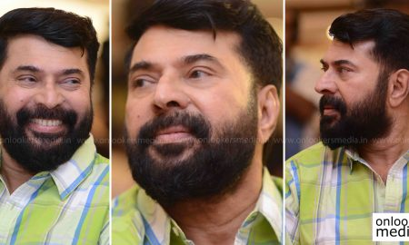 Thoppil Joppan stills photos, Thoppil Joppan audio launch stills, mammootty beard look, jayaram new look, mammootty the great father