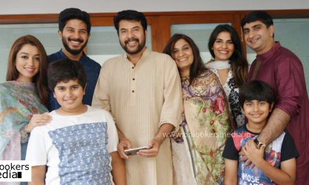 Mammootty birth day wishes, dulquer about mammootty, happy birthday Mammootty, mammootty family photo, dulquer with family
