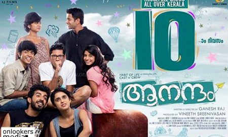aanandam malayalam movie, aanandam, ganesh raj director, vineeth sreenivasan, aanandam hit or flop,