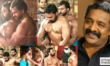 godha malayalam movie, renji panicker body building new look, renji panicker in godha, tovino thomas, malayalam movie 2016, godha movie