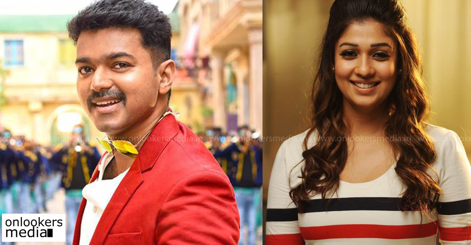 Nayanthara To Play The Female Lead In Thalapathy 63 – Fondos de Pantalla