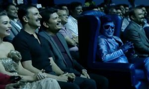 2.0, rajinikanth , shankar, ar rahman, akshay kumar, rajinikanth new movie, 2.0 movie poster launch, 2.0 movie posters, rajinkanth salmaan khan, salman khan, karan johar