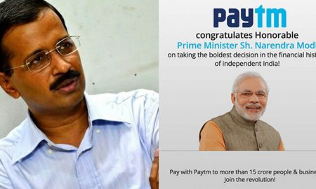 Arvind Kejriwal against modi, Narendra Modi issues, modi PayTM ad, payTM latest offers, new 2000 indian rupee