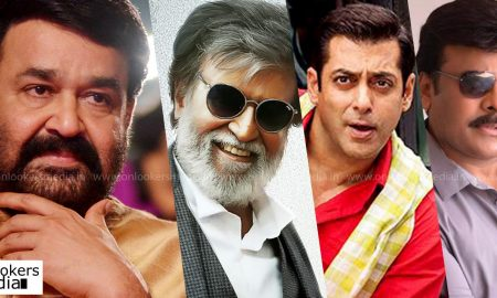 Mohanlal, janatha garage, pulimurugan, oppam, chiranjeevi, rajinikanth, salman khan, who is biggest star in indian cinema, best actor indian cinema