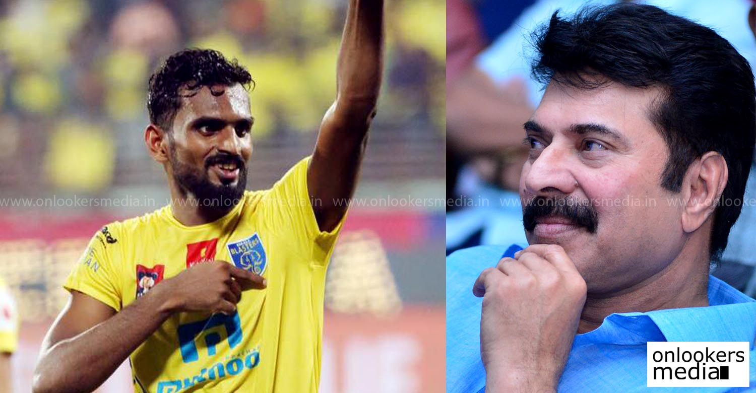 Mammootty, CK Vineeth, Kerala Blasters, megastar next movie, puthan panam location stills, upcoming malayalam movie