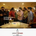 The Great Father, The Great Father poster stills photos, mammootty stylish look. mammootty great father, baby anikha, tamil actor arya,