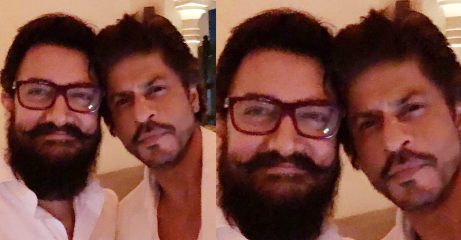srk and aamir khan, shah rukh khan latest news, aamir khan latest news, shah rukh khan and aamir khan, shah rukhan aamir khan photo in twitter, shah rukh khan twitter