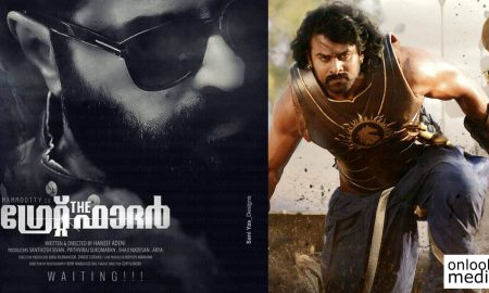 The Great Father motion poster, The Great Father baahubali 2 record, The Great Father youtube record, mammootty box office record, motion poster record in south india