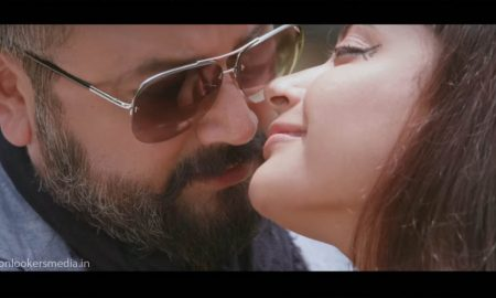 sathya, sathya malayalam movie, parvathy nambiar, jayaram, sathya movie songs, jayaram salt n pepper look,
