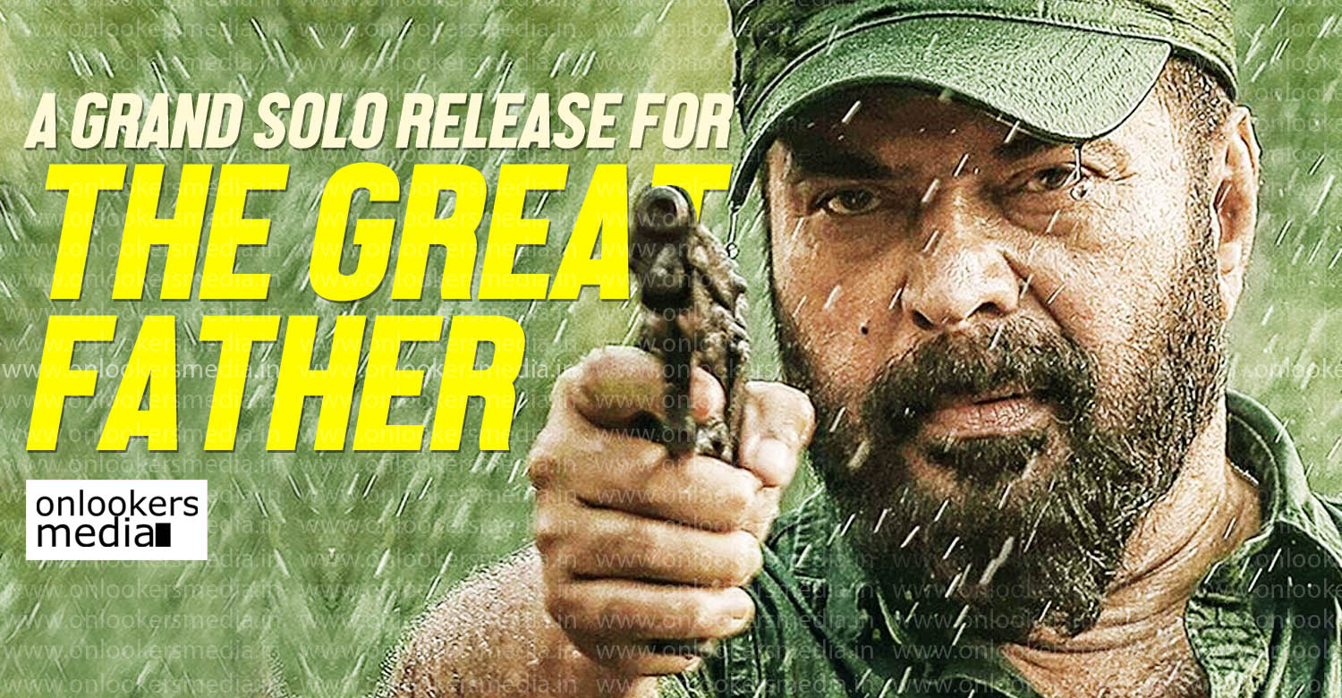mammootty latest news, mammooty in the great father,the great father latest news, the great father new movie, the great father upcoming movie, the great father relase date, latest malayalam news