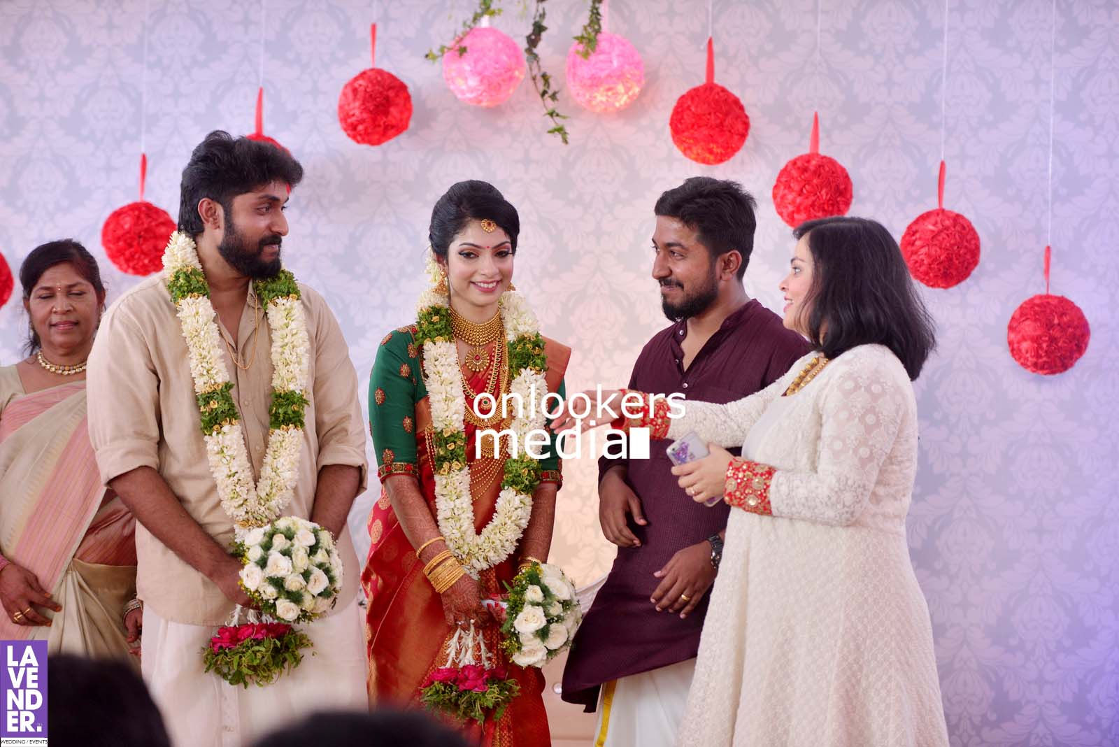 Dhyan Sreenivasan, Dhyan Sreenivasan wedding stills photos, arpita sebastian, Dhyan Sreenivasan marriage photos, sreenivasan family, vineeth sreenivasan wife